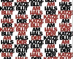 »Blut am Hals der Katze« von Rainer Werner Fassbinder/ Eigene Regie